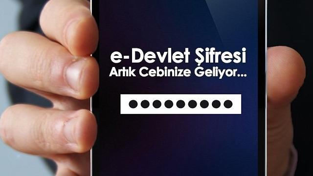 Artık e-Devlet Kapısı Şifrenizi SMS ile Alabileceksiniz