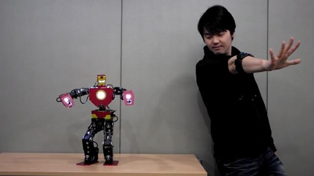 Microsoft'tan Robot Kontrolünde Devrim