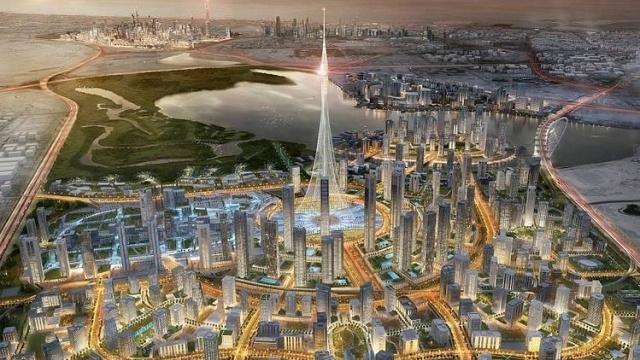 Dünyanın En Yüksek ve Teknoloji Harikası Binası Bakın Nerede İnşa Ediliyor