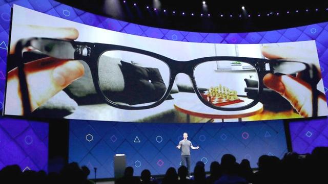 Facebook, Yeni Akıllı Gözlüklerinin Patentini Aldı