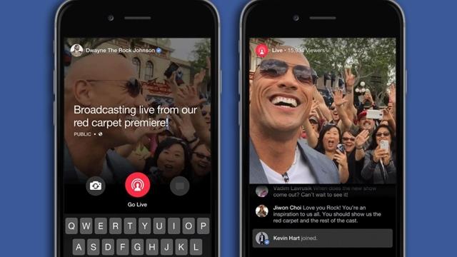 Facebook Ünlülerle Milyonlarca Dolarlık Canlı Yayın Anlaşmaları Yapıyor