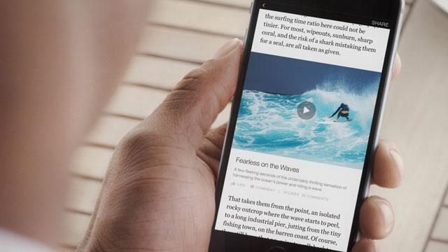 Facebook'tan Yeni Bir Hizmet Daha: Anında Makale