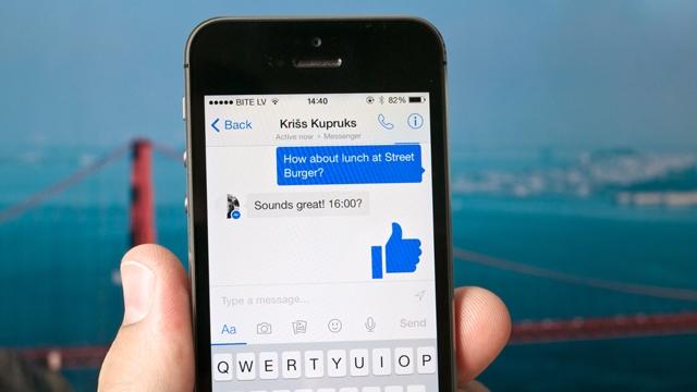 Facebook Messenger'a 'Canlı Konum' Özelliği Geldi
