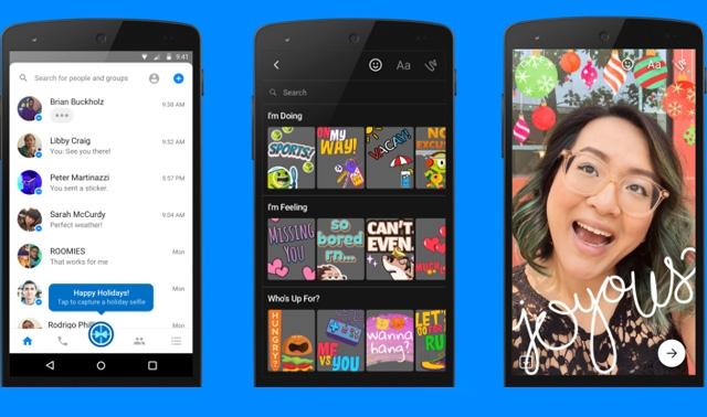 Facebook Messenger'a Yeni Bir Kamera Uygulaması Geldi