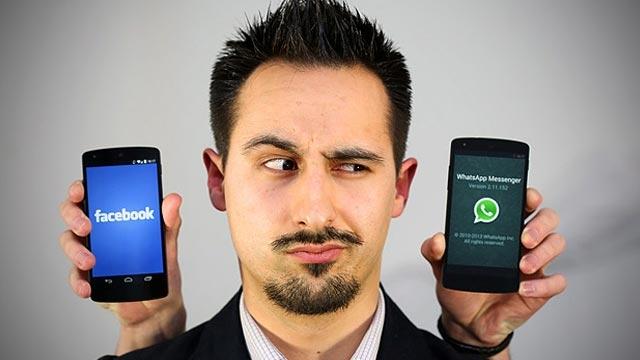 Facebook Messenger ve WhatsApp'ı Kapıştırdık