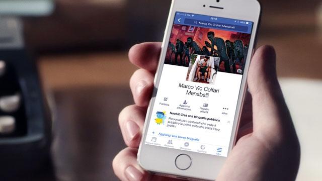 Facebook Mobil Üzerinde Profil Sayfalarını Değiştirmeye Hazırlanıyor