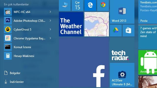 Facebook ve Microsoft Birlikte Windows 10 Uygulamaları Üretecek