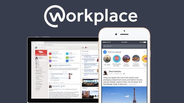 Facebook, Kurumsal Bir Sosyal Ağ Olan Workplace Servisini Açtı