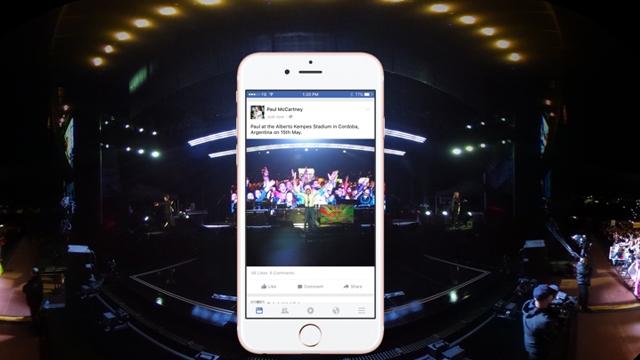 Facebook Haber Kaynağına 360° Fotoğraf Desteği Geldi