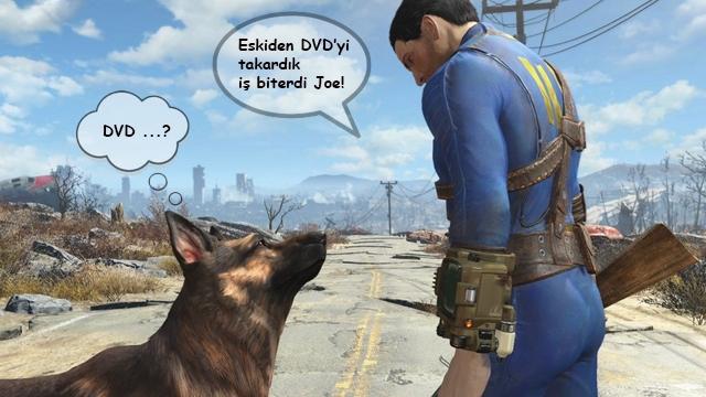 Fallout 4 için Sadece DVD'den Yükleme Yeterli Olmayacak