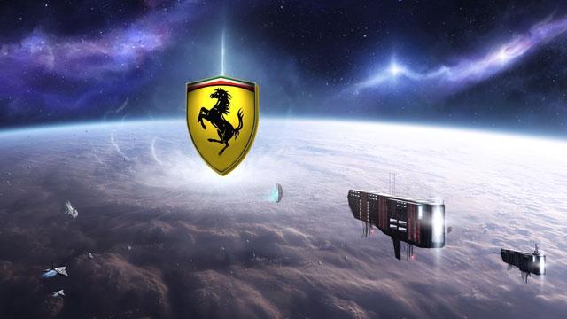 Ferrari Tasarımcıları Bir Uzay Gemisi Tasarlarsa Neye Benzer?