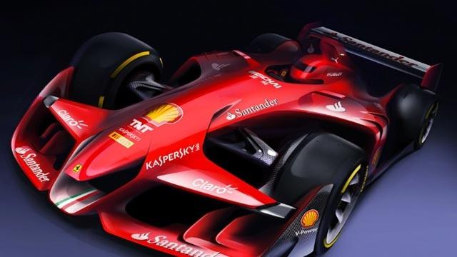Ferrari Concept 1: Geleceğin F1 Yarış Otomobili Tanıtıldı