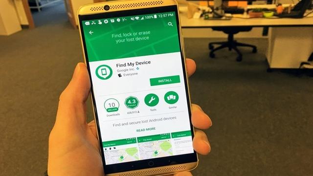 Android Cihaz Yöneticisi Yenilendi