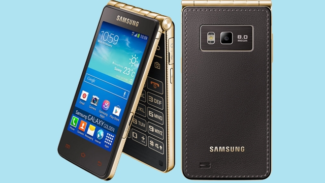 Samsung'dan 2016 Sürprizi, Kapaklı Samsung Galaxy Golden 3 Ortaya Çıktı