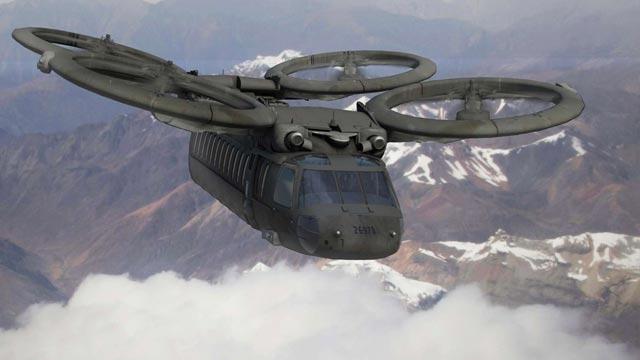 ABD Ordusu Geleceğin Helikopterlerini Tasarlıyor