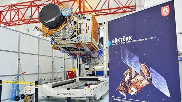Türk Uydusu Göktürk-1 Uzaya Çıkmaya Hazır