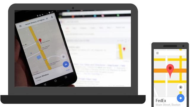Google Arama Motorundan Cep Telefonlarına Yol Tarifi Gönderebilirsiniz