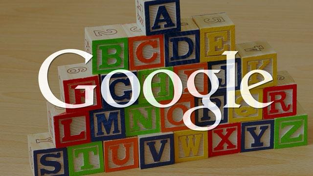 Alphabet Kuruluyor, Google'dan Daha Büyük Oluyor