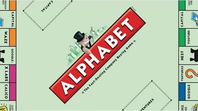 Google Artık Resmen Alphabet Adını Kullanmaya Başladı