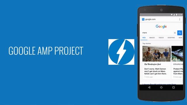 AMP Projesi Google Arama Motorunda Devreye Girdi