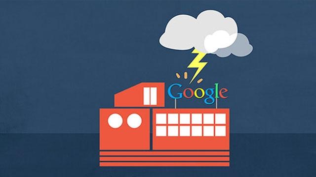 Google Bulut Servislerine Yıldırım Çarptı Bazı Veriler Silindi