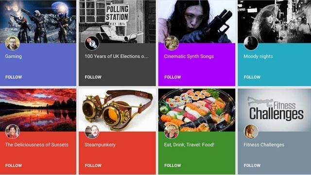 Google'dan Pinterest Benzeri Bir Hizmet: Collections