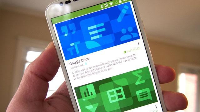 Google Dokümanlar, E-tablolar ve Slayt Uygulamalarına Yakışıklı Güncellemeler Geliyor