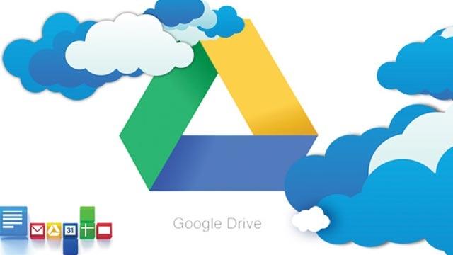 Google Drive 2.2'ye Sürükle Bırak Özelliği Geldi