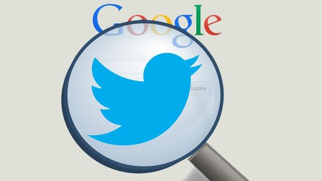 Artık Atılan Tweet'ler Google Arama Sonuçlarında Masaüstünde de Görünecek