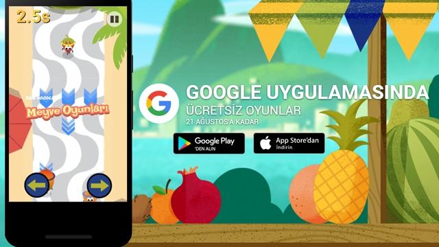Google Uygulamasında 21 Ağustosa Kadar Oyunlar Bedava