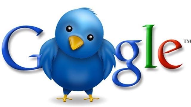 Google Aramalarında Artık Tweetleri de Göreceğiz