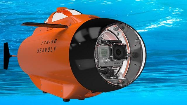 GoPro İçin Özel Bir Denizaltı Yapıldı, İşte TTR-SB SeaWolf
