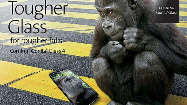 Yeni Gorilla Glass 4 ile Şimdi Darbeler Düşünsün