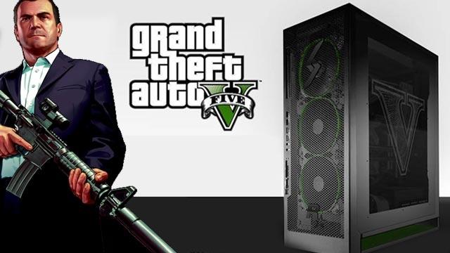 GTA 5'e Özel PC, Özellikleri ile Oyunda Asfalt Ağlatıyor