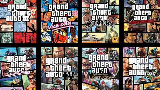 Bütün GTA Serisi Artık PlayStation 4'te Oynanabilecek