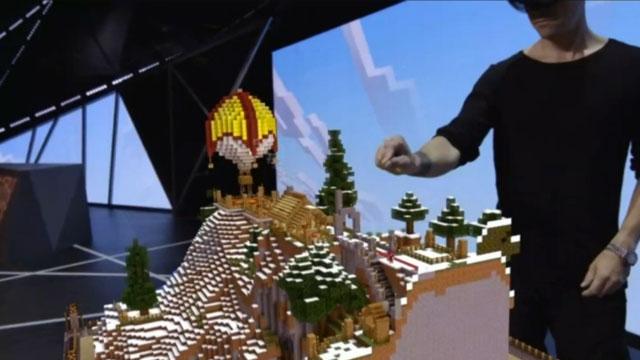 İşte Hololens ile Oynanan Minecraft ve Olağanüstü Oyun Deneyimi