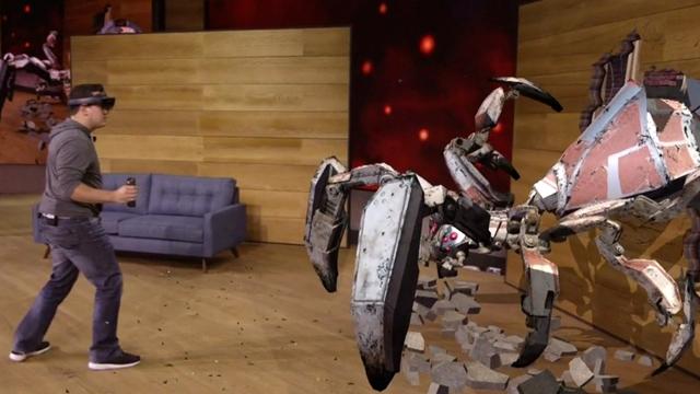 Hololens Project X-Ray Demosu ile Microsoft Etkinliğine Yine Damgasını Vurdu