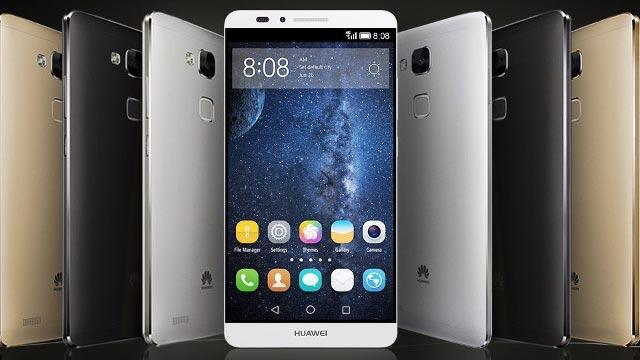 Huawei Mate 7 Raflarda Yerini Aldı
