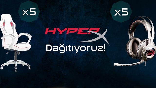 Milyonlarca Oyuncunun Tercihi HyperX Kulaklığına Siz de Sahip Olun