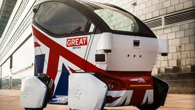 İngiltere Şoförsüz Arabaları Onayladı Ama İlk Önce Pod'ları Kullanacak