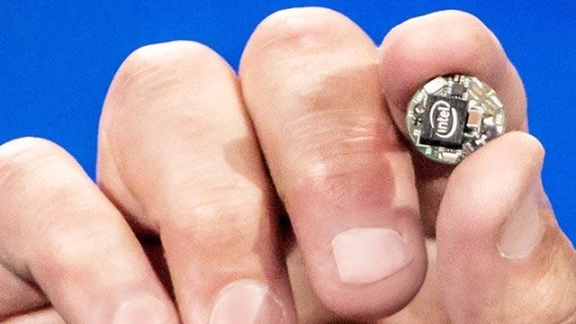 Intel'in Yeni Yongası Curie, Giyilebilir Cihazlarda Devrim Yapacak
