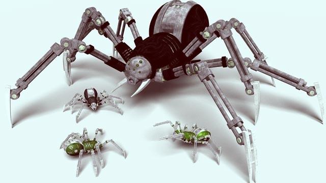 Intel'in Robot Örümcekleri Hareketlerle Kontrol Edilebiliyor