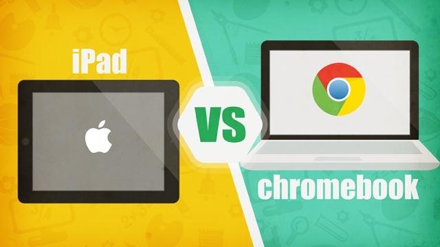 Chromebook iPad'den İlk  Raundu Aldı