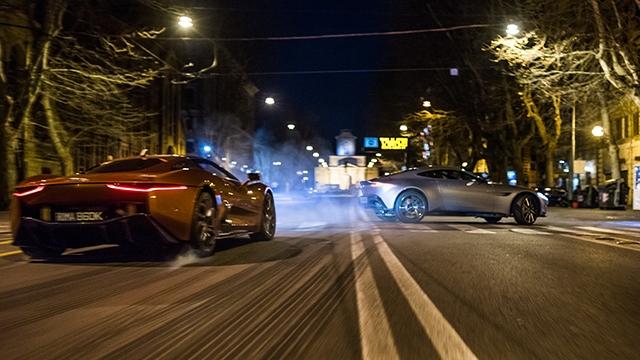 Yeni James Bond Serisi Spectre'da Toplam 34 Milyon Dolarlık Araba Parçaladılar
