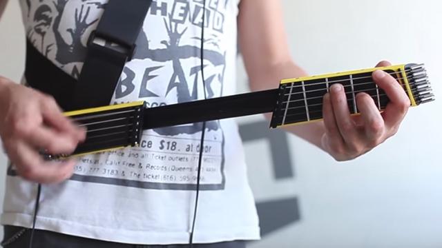 Cebe Sığabilen Elektro Gitar 'Jammy' Oldukça Pratik!