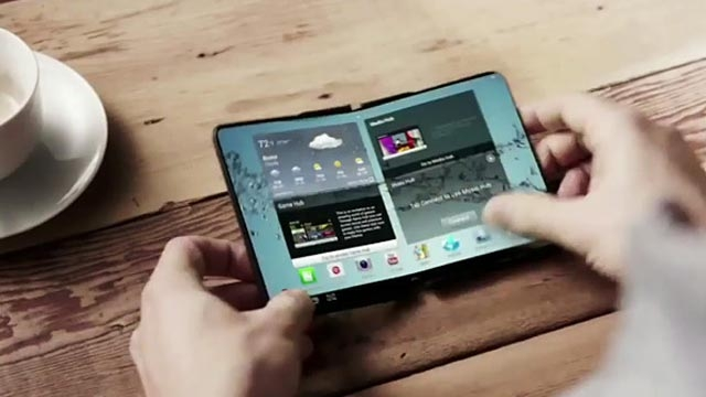 Samsung Galaxy S7 Katlanabilir Bir Cihaz Olabilir