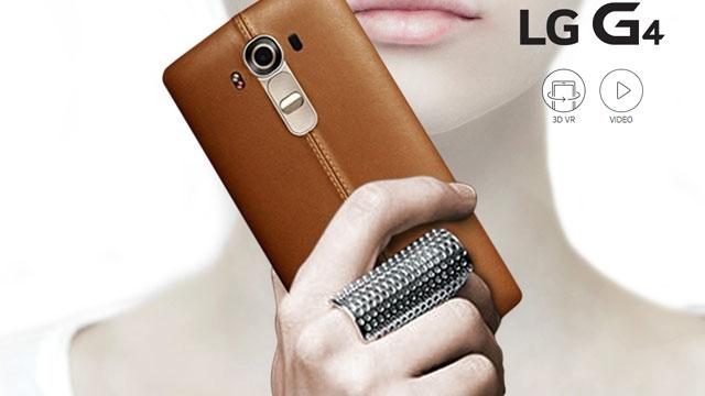 LG G4'ün Fiyatı Belli Oldu: Samsung Galaxy S6'dan Pahalı Olacak
