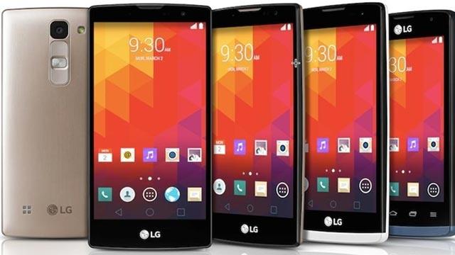 LG'den MWC 2015 İçin 4 Yeni Cihaz: Magna, Spirit, Leon ve Joy