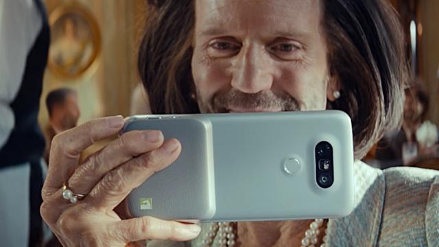 LG G5'in 1 Nisan Çıkış Reklamları Bakın Hangi Yıldızı Saklıyormuş