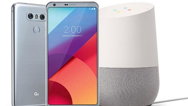 Bir LG G6 Alana Yanında Bir Google Home Bedava Kampanyası